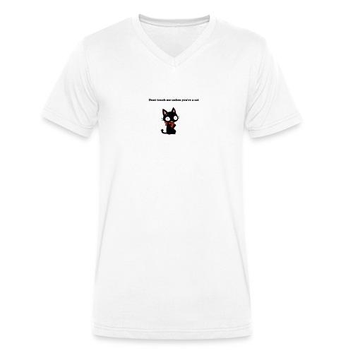 Imnotacat Tshirt - Ekologisk T-shirt med V-ringning herr från Stanley & Stella