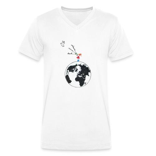 Come back - Männer Bio-T-Shirt mit V-Ausschnitt von Stanley & Stella