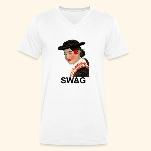 Tiroler Swag - Männer Bio-T-Shirt mit V-Ausschnitt von Stanley & Stella