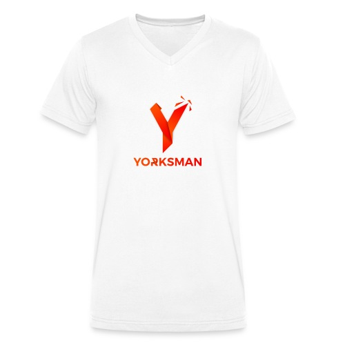 THeOnlyYorksman's Teenage Premium T-Shirt - Men's Organic V-Neck T-Shirt by Stanley & Stella