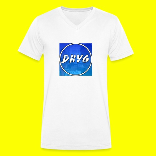 DusHeelVeelgamen New T shirt - Mannen bio T-shirt met V-hals van Stanley & Stella