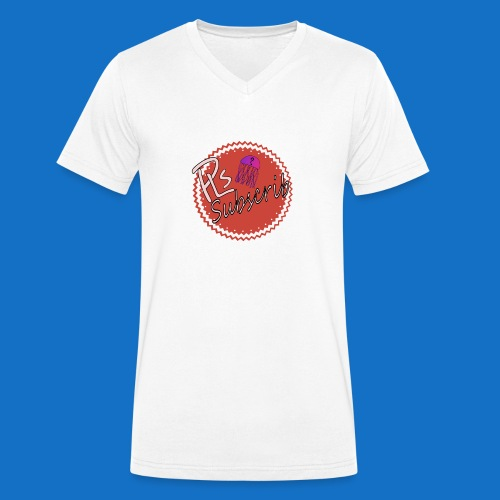 PLsSubscrib - Men's Organic V-Neck T-Shirt by Stanley & Stella