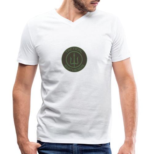 Tactical Shitheads Logo - Männer Bio-T-Shirt mit V-Ausschnitt von Stanley & Stella