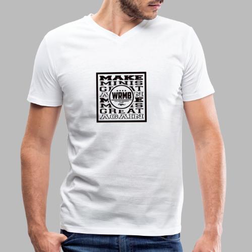 Montée MMGA - T-shirt bio col V Stanley & Stella Homme