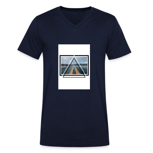 On the Road - T-shirt bio col V Stanley & Stella Homme