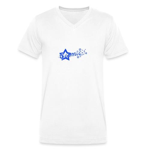 CosmicSound Blue - Männer Bio-T-Shirt mit V-Ausschnitt von Stanley & Stella