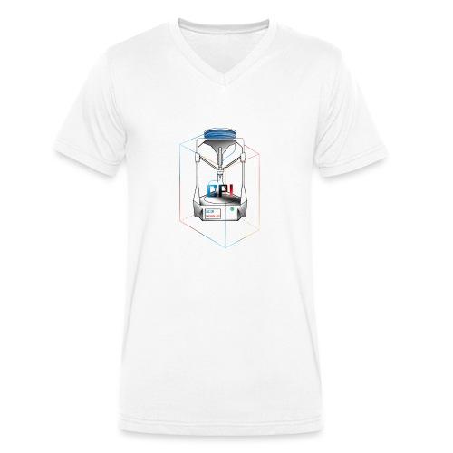 New Logo CPI - T-shirt bio col V Stanley & Stella Homme