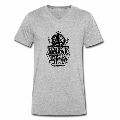 4-Takt-Star / Viertakt-Star - Men's Organic V-Neck T-Shirt by Stanley & Stella