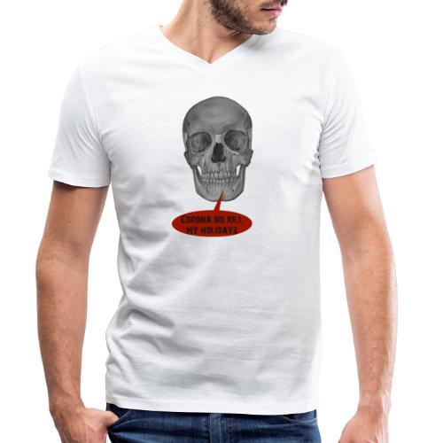 Holidays - Männer Bio-T-Shirt mit V-Ausschnitt von Stanley & Stella