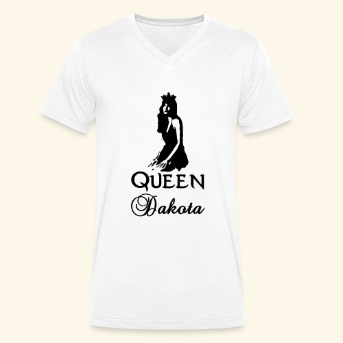 Queen Dakota - Men's Organic V-Neck T-Shirt by Stanley & Stella