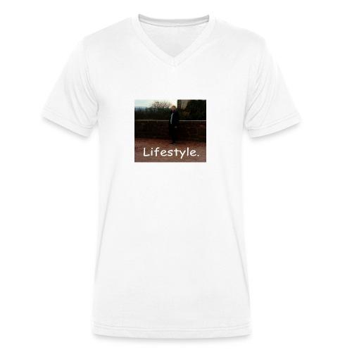 Lifestyle. - Männer Bio-T-Shirt mit V-Ausschnitt von Stanley & Stella