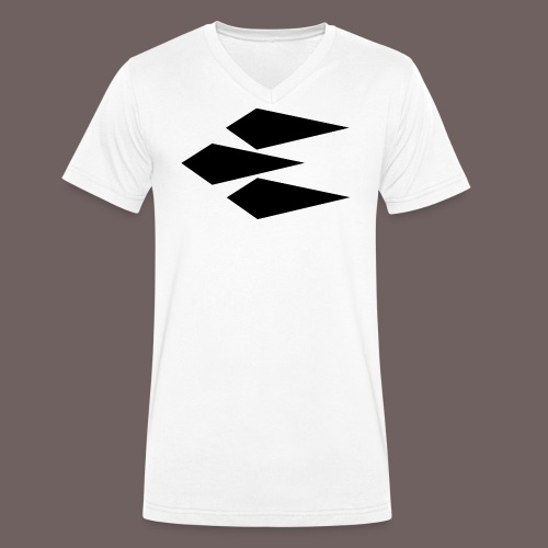 GBIGBO zjebeezjeboo - Rock - Rocket - Black - T-shirt bio col V Stanley & Stella Homme
