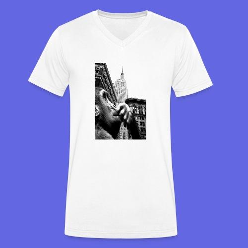 APE - Männer Bio-T-Shirt mit V-Ausschnitt von Stanley & Stella