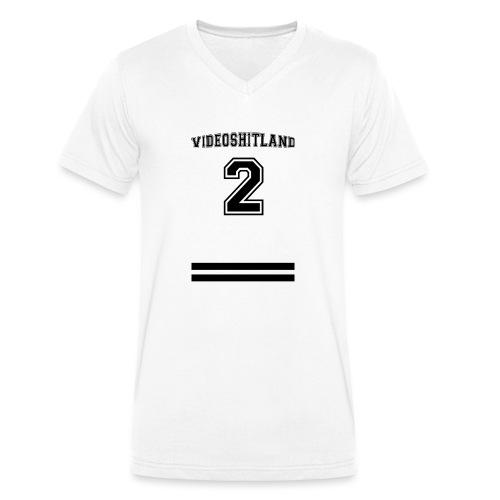 Unbenannt 7 png - Männer Bio-T-Shirt mit V-Ausschnitt von Stanley & Stella