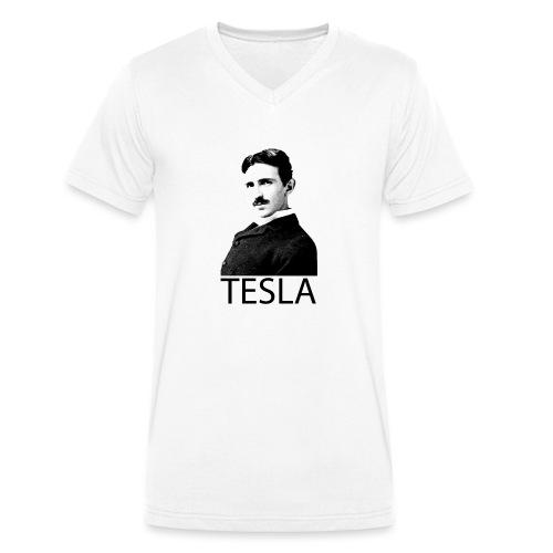 Tesla - T-shirt bio col V Stanley & Stella Homme