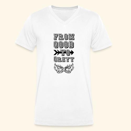 goodG - Men's Organic V-Neck T-Shirt by Stanley & Stella