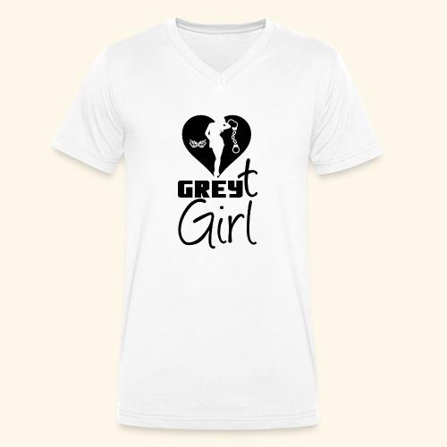 Ggirl - Men's Organic V-Neck T-Shirt by Stanley & Stella