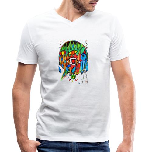 Vertrauen - Männer Bio-T-Shirt mit V-Ausschnitt von Stanley & Stella