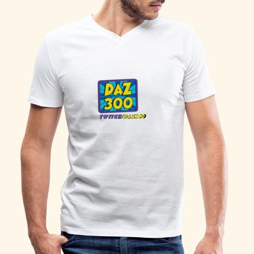 daz logo 2 0 - Men's Organic V-Neck T-Shirt by Stanley & Stella