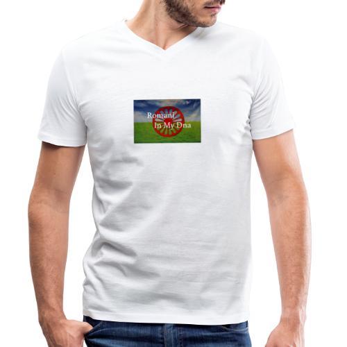 flagromaniinmydna - Ekologisk T-shirt med V-ringning herr från Stanley & Stella