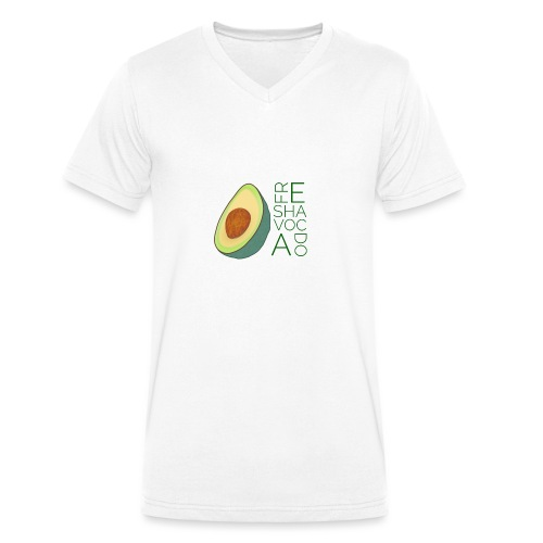 FRESHAVOCADO - Men's Organic V-Neck T-Shirt by Stanley & Stella
