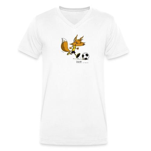 Valmy mascotte - T-shirt bio col V Stanley & Stella Homme