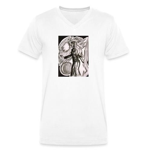 Fernweh - Männer Bio-T-Shirt mit V-Ausschnitt von Stanley & Stella
