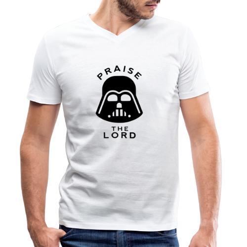 PRAISE THE LORD - Men's Organic V-Neck T-Shirt by Stanley & Stella