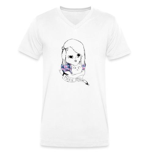 Marie Jeanne - T-shirt bio col V Stanley & Stella Homme
