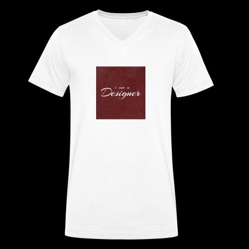Designer - Männer Bio-T-Shirt mit V-Ausschnitt von Stanley & Stella