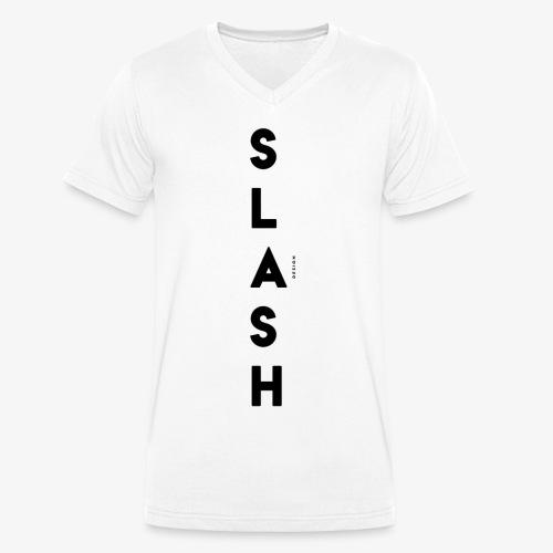 COLLEZIONE / S L A S H / DSN Invernale, verticale - T-shirt ecologica da uomo con scollo a V di Stanley & Stella