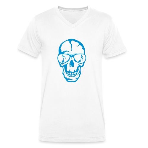 tete de mort crane lunette soleil 3 - T-shirt bio col V Stanley & Stella Homme
