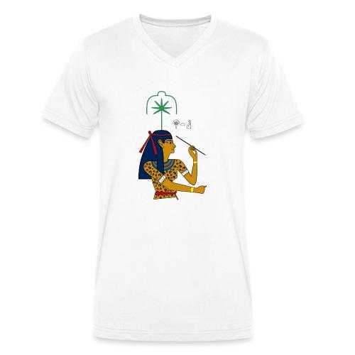 Seschat – altägyptische Göttin - Männer Bio-T-Shirt mit V-Ausschnitt von Stanley & Stella