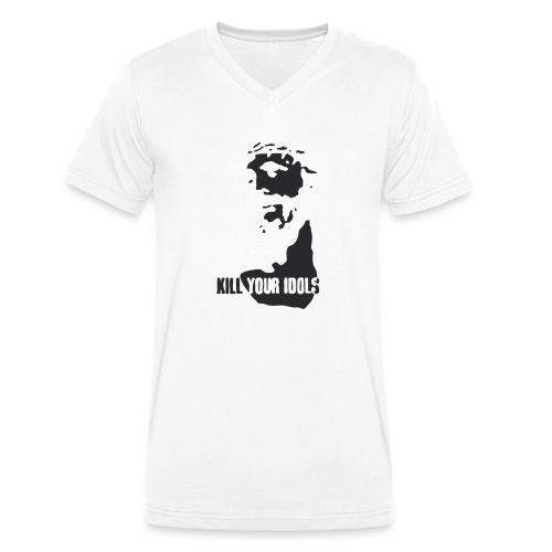 Kill your idols - Men's Organic V-Neck T-Shirt by Stanley & Stella