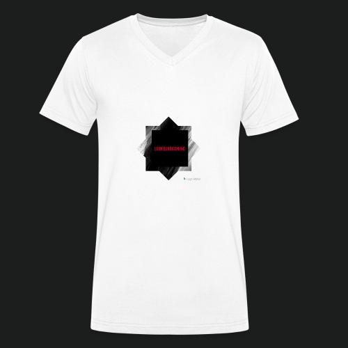 New logo t shirt - Mannen bio T-shirt met V-hals van Stanley & Stella