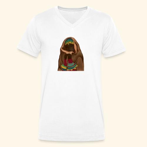 Femme bijou voile - T-shirt bio col V Stanley & Stella Homme