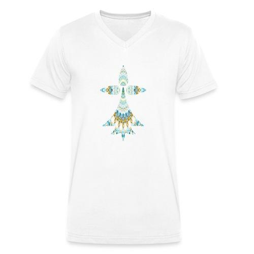 hermine - T-shirt bio col V Stanley & Stella Homme