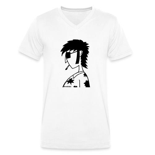 hippie - Männer Bio-T-Shirt mit V-Ausschnitt von Stanley & Stella