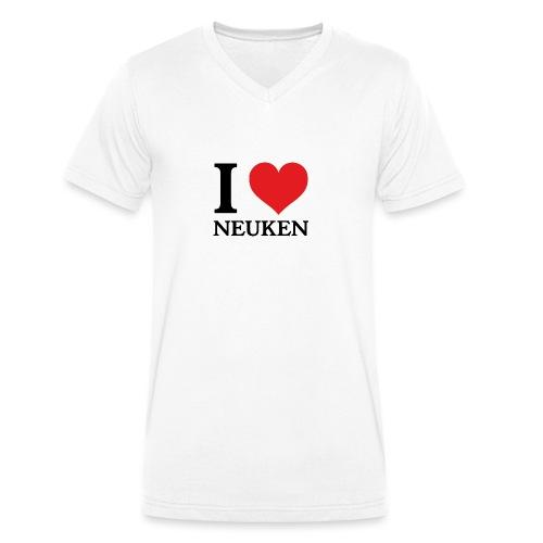 iloveneuken - Mannen bio T-shirt met V-hals van Stanley & Stella