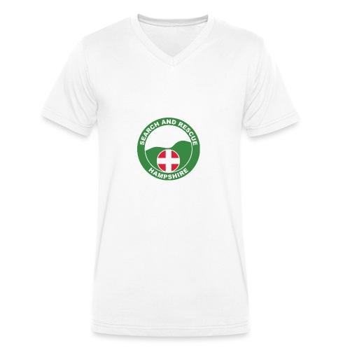 HANTSAR roundel - Men's Organic V-Neck T-Shirt by Stanley & Stella