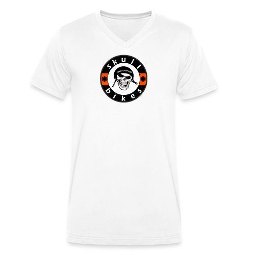 skull gross gif - Männer Bio-T-Shirt mit V-Ausschnitt von Stanley & Stella