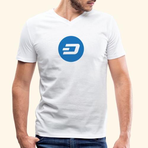 Dash Logo 2 - Männer Bio-T-Shirt mit V-Ausschnitt von Stanley & Stella