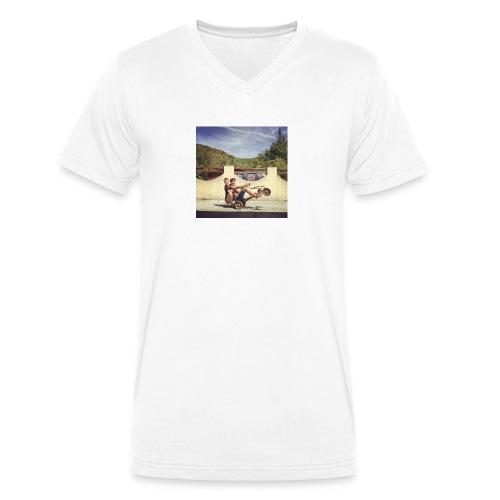 Hoodie - T-shirt bio col V Stanley & Stella Homme
