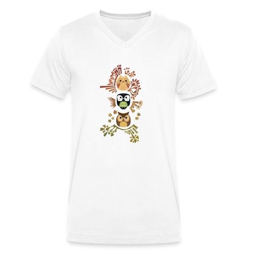 Good Wise Owls - Männer Bio-T-Shirt mit V-Ausschnitt von Stanley & Stella