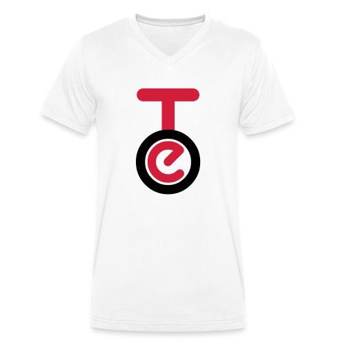 logo TEO shirt EPS - T-shirt ecologica da uomo con scollo a V di Stanley & Stella