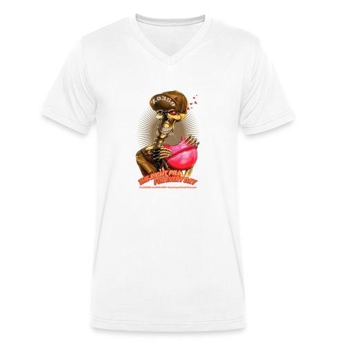 headCRASH pills 2 - Männer Bio-T-Shirt mit V-Ausschnitt von Stanley & Stella