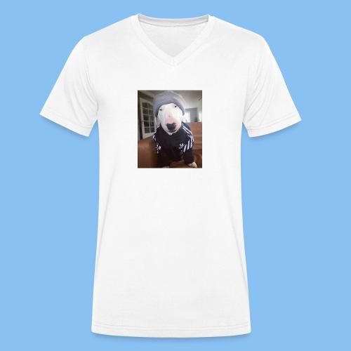 Fosterrier - Camiseta ecológica hombre con cuello de pico de Stanley & Stella