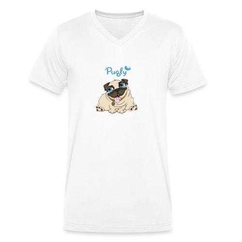 Doughnut - Ekologisk T-shirt med V-ringning herr från Stanley & Stella