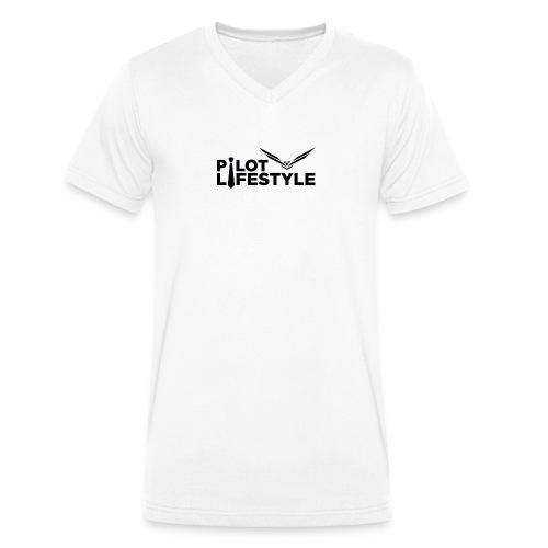 Pilot Lifestyle - Men's Organic V-Neck T-Shirt by Stanley & Stella