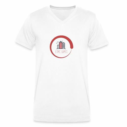 ETMC Orginal - Mannen bio T-shirt met V-hals van Stanley & Stella